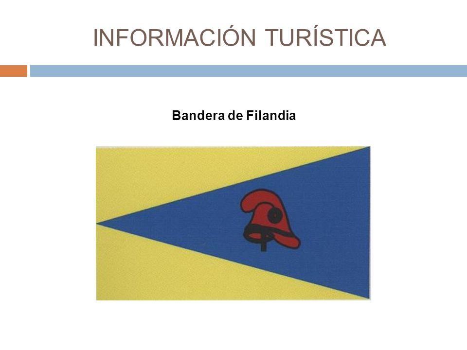 INFORMACIÓN TURÍSTICA Bandera de Filandia