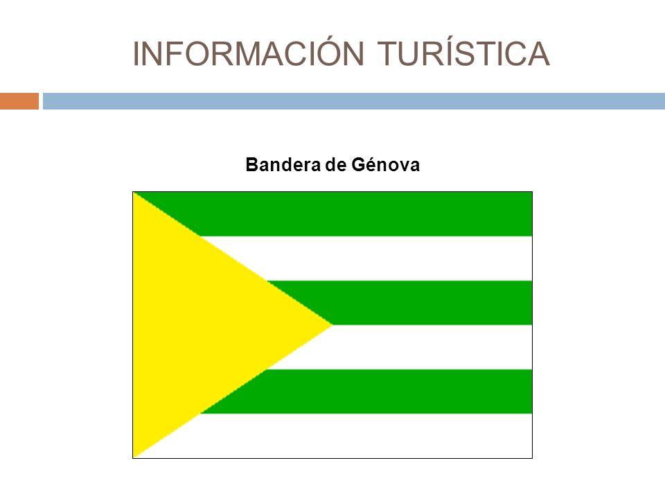 INFORMACIÓN TURÍSTICA Bandera de Génova