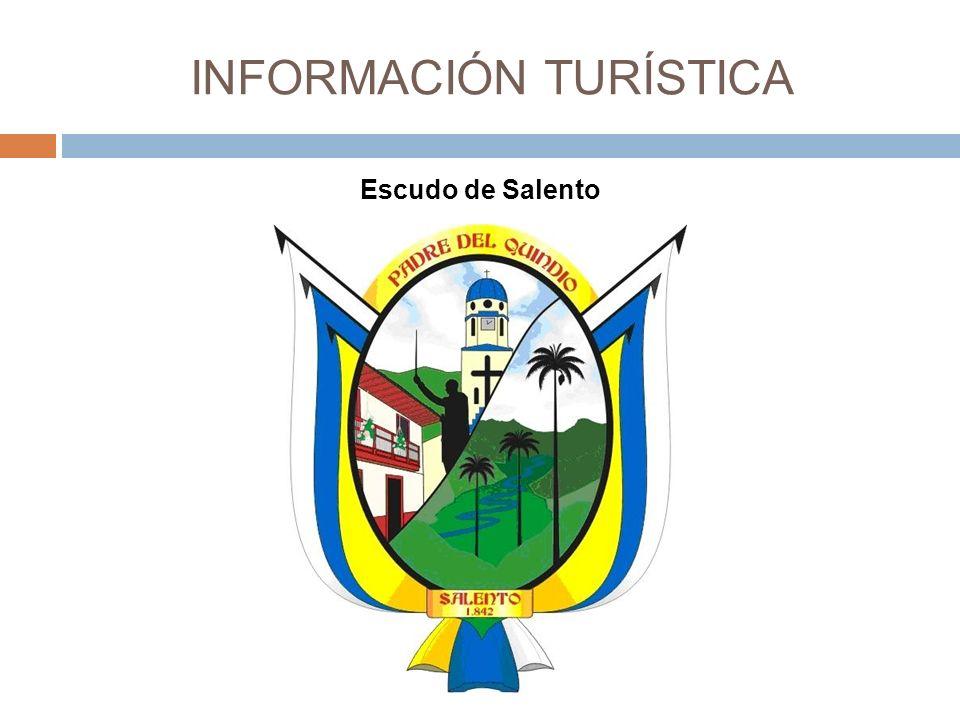 INFORMACIÓN TURÍSTICA Escudo de Salento