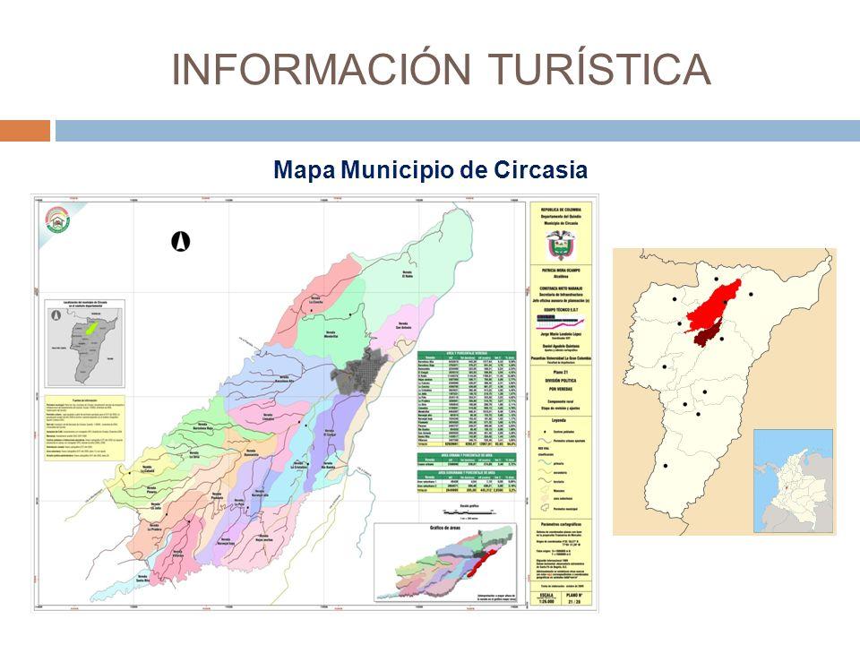 Mapa Municipio de Circasia