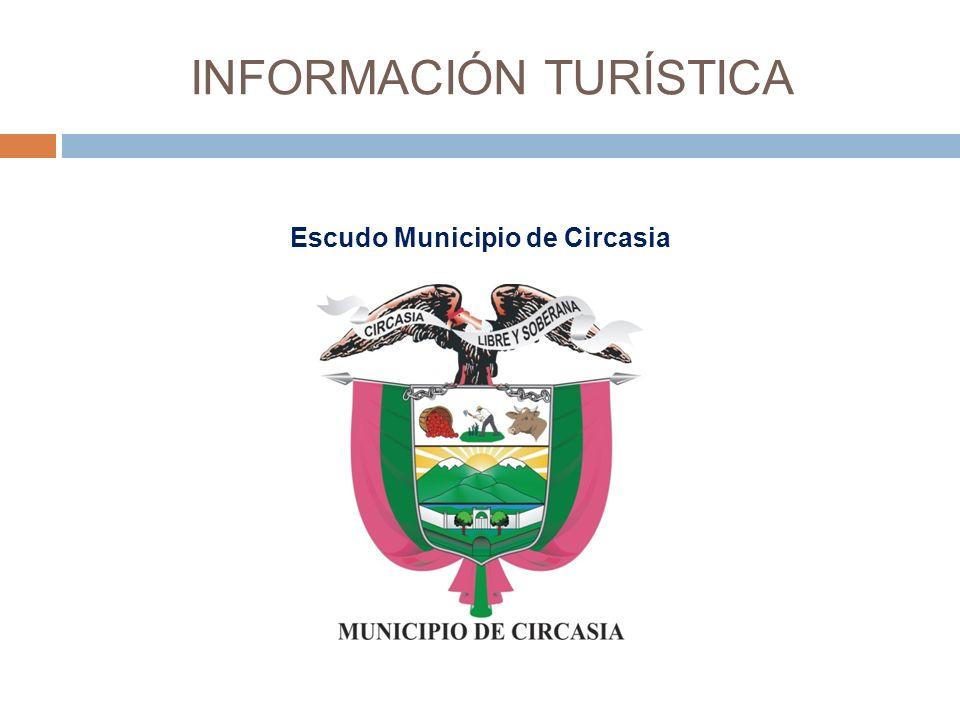 INFORMACIÓN TURÍSTICA Escudo Municipio de Circasia