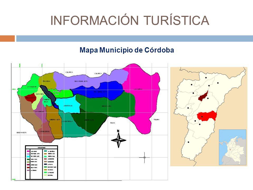 Mapa Municipio de Córdoba