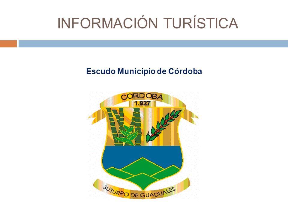 INFORMACIÓN TURÍSTICA Escudo Municipio de Córdoba