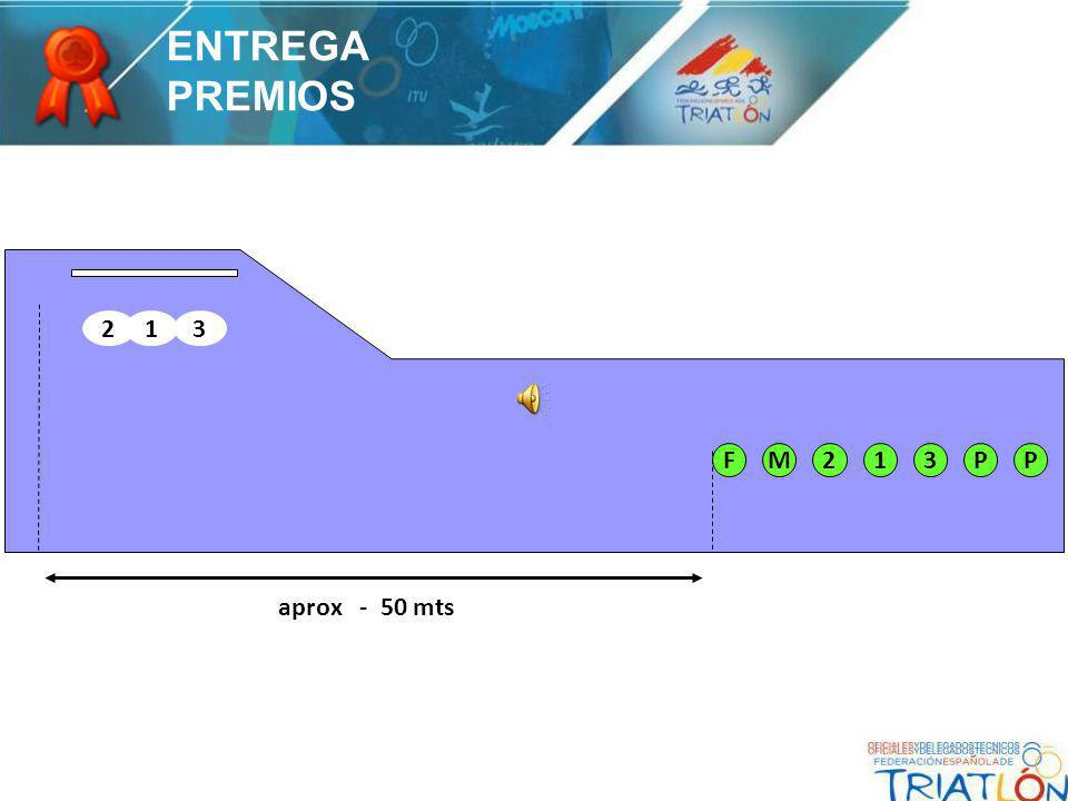 PP312MF 231 aprox - 50 mts ENTREGA PREMIOS