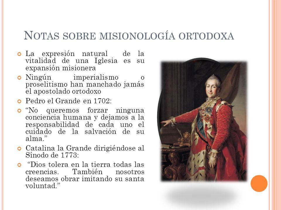 1555, Metropolita Macario de Moscú: Gánate la confianza del corazón de los tártaros y que el amor, no otros motivos, los lleve al bautismo.
