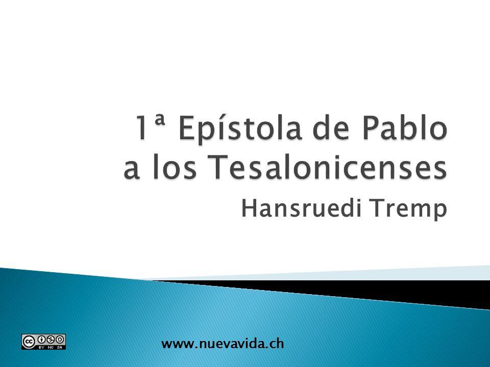 Hansruedi Tremp www.nuevavida.ch
