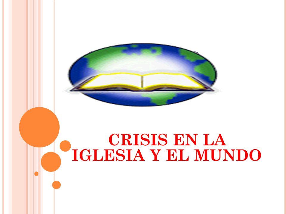SEMINARIO ADVENTISTA CRISIS EN LA IGLESIA Y EL MUNDO