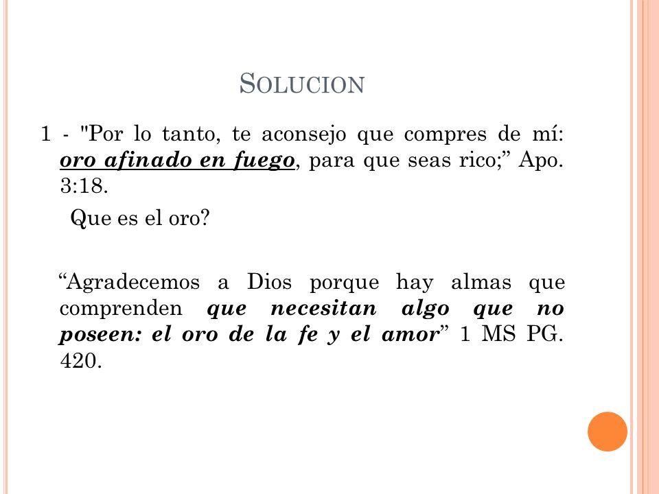 S OLUCION 1 -