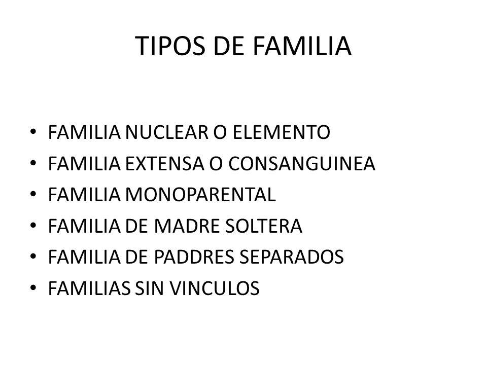 FAMILIA NUCLEAR UNIDAD FAMILIAR BASICA QUE SE COMPONE DE PADRE,MADRE,E HIJOS