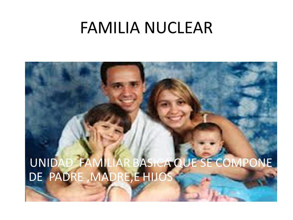 FAMILIA EXTENSA SE COMPONE MAS DE UNA FAMILIA Y SE EXTIENDE MAS ALLA DE DOS GENERACIONES Y ESTA BASADA EN LOS V INCULOS DE SANGRE.