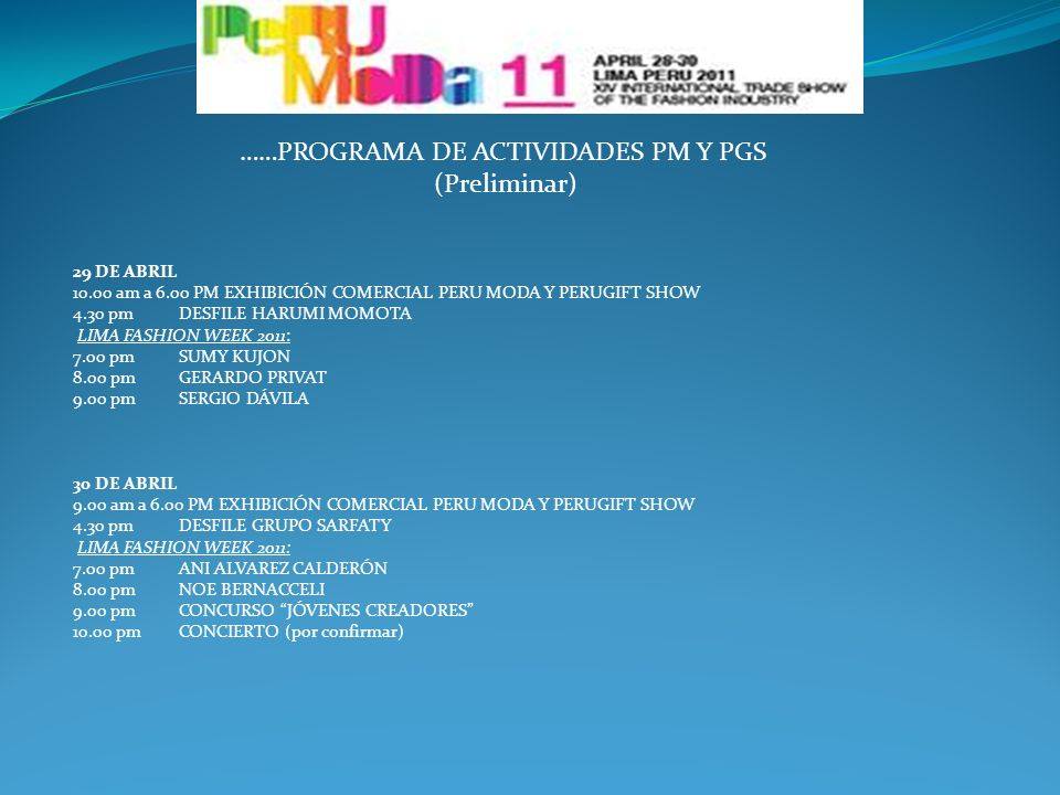 PLANO FERIAL PM Y PGS