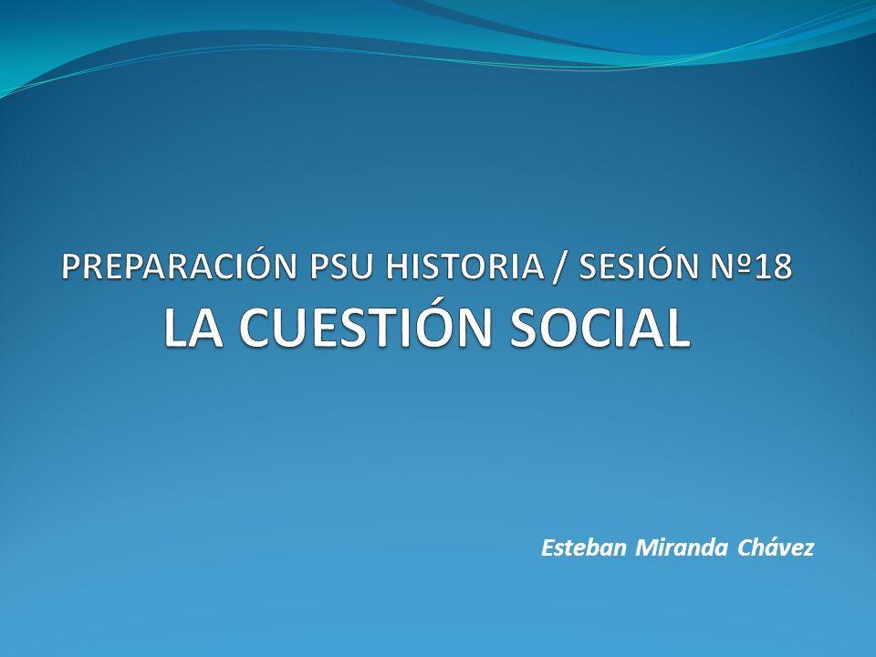 El término Cuestión Social es sumamente amplio, de difícil consenso, por lo que ha sido motivo de debates y discusiones.