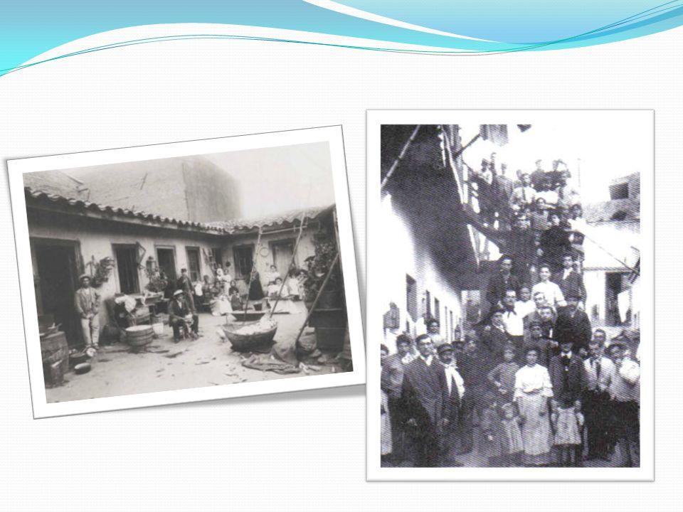 Otra forma de resolver el problema fue el rancho, éstas eran viviendas precarias construidas por sus moradores con desechos en los márgenes de la ciudad y techo de paja.