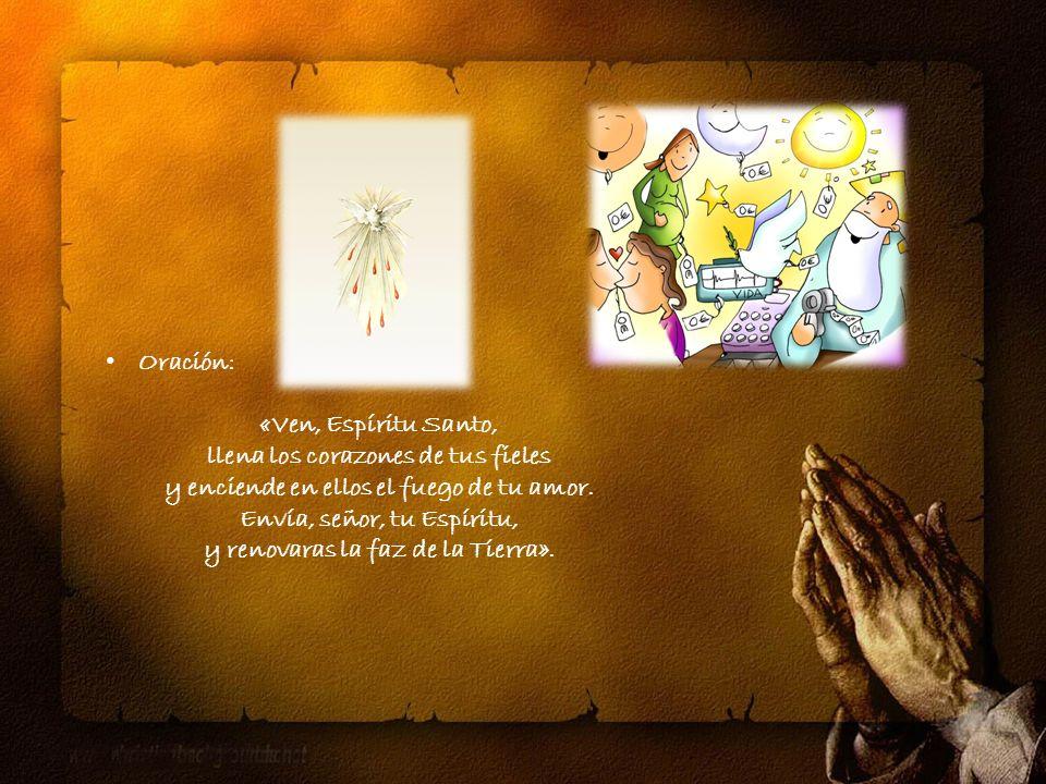 «El Espíritu Santo procede del Padre en cuanto fuente primera y, por el don eterno de este al Hijo, del Padre y del Hijo en Comunión».