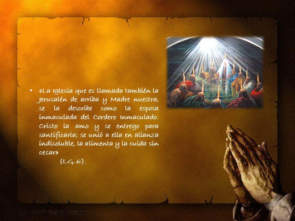 Es pueblo de Dios y Cuerpo de Cristo.Es una, santa, católica y apostólica.
