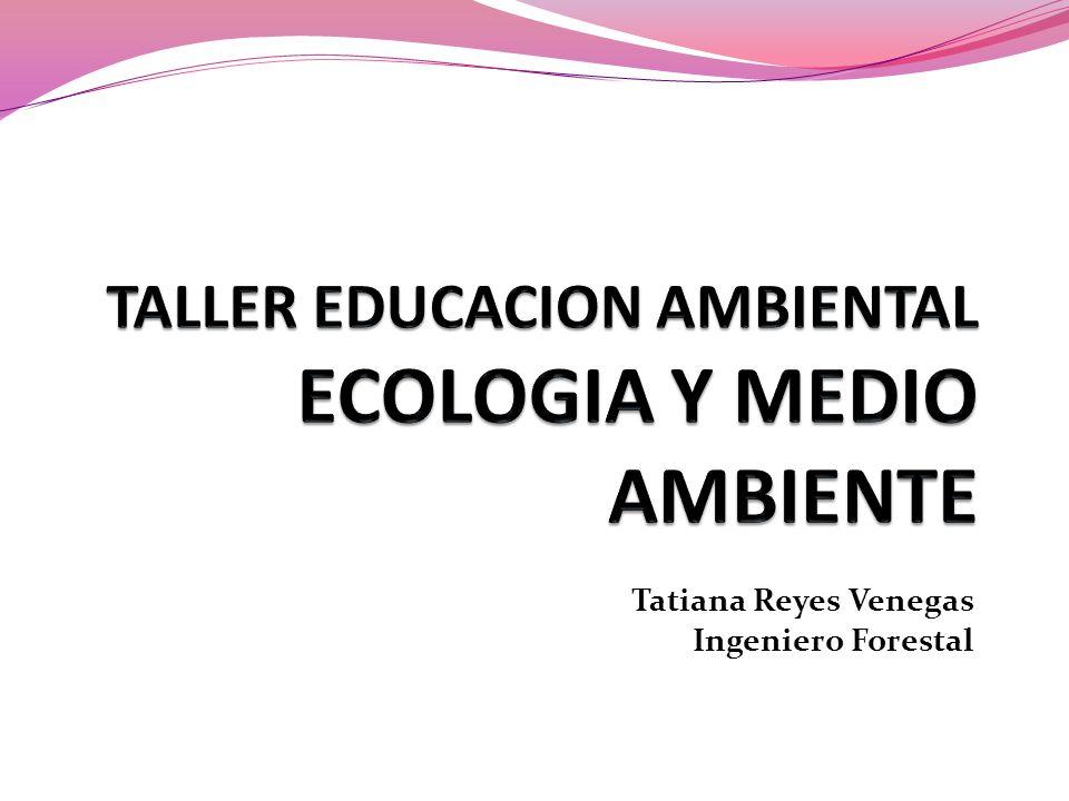 Tatiana Reyes Venegas Ingeniero Forestal