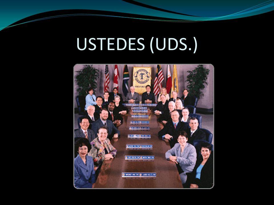USTEDES (UDS.)