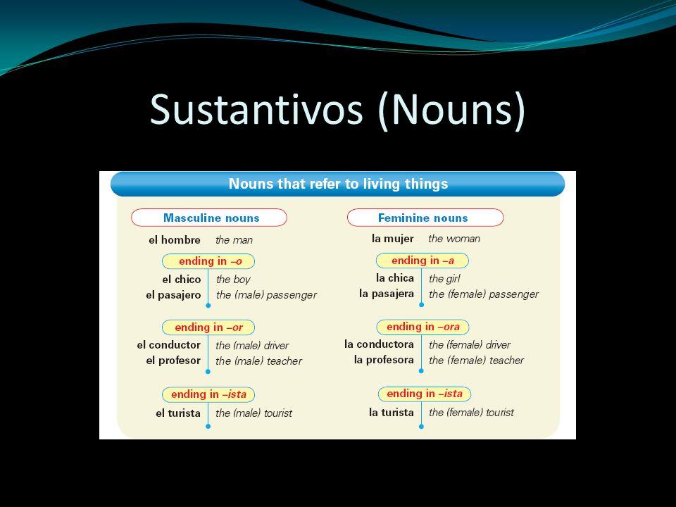 Sustantivos (Nouns)