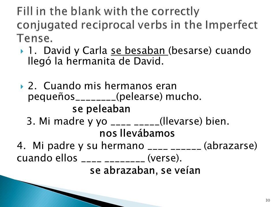 6. (fascinar) A mi mamá __ ______Lo que el viento se llevó. (Gone with the Wind) le fascina 7. (encantar) A mis tías __ _____ los vestidos que llevaba