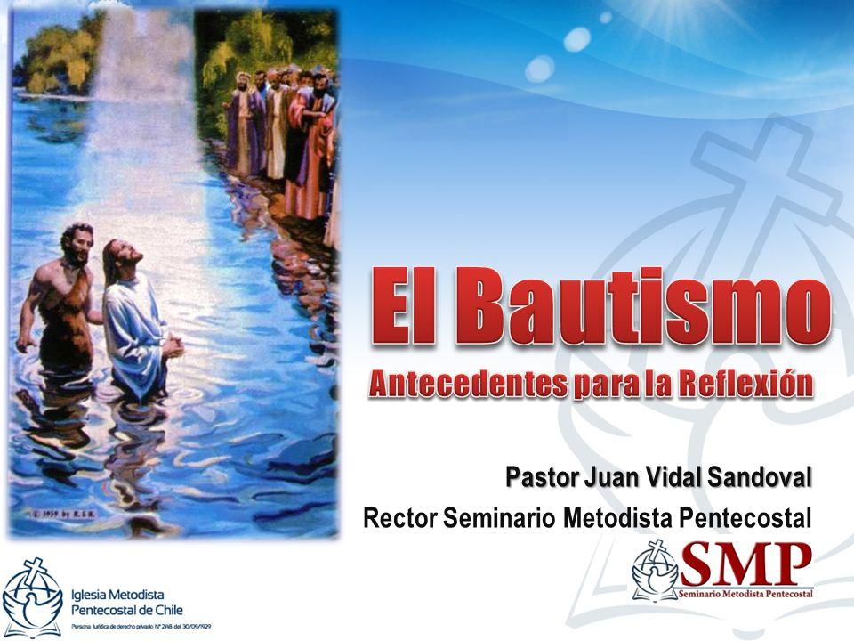 Pastor Juan Vidal Sandoval Rector Seminario Metodista Pentecostal