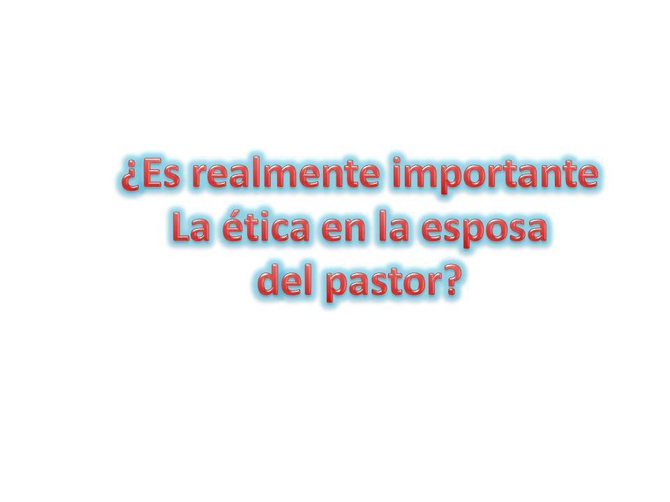 ineficaz 6.- LA FALTA DE ÉTICA Puede hacer ineficaz el trabajo ministerial.