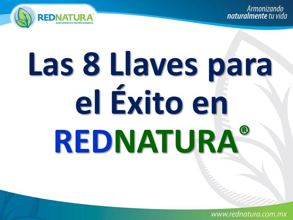 Las 8 Llaves para el Éxito en REDNATURA ® Las 8 Llaves para el Éxito en REDNATURA ®