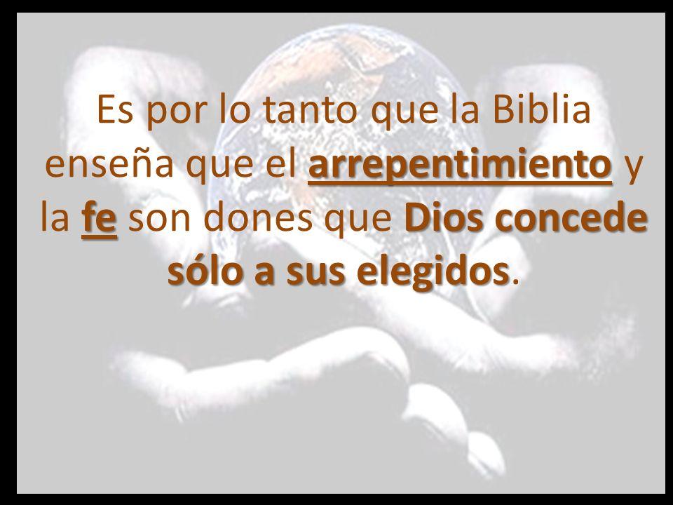 Hch.5:30,31; Hch.I3:48; Hch 16:14 Rom.12:3 1 Cor.3:5; FiI.l:29; 2: 13; 2 Tim.2:24-26; Stg.1:18