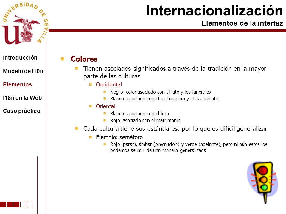 Colores Tienen asociados significados a través de la tradición en la mayor parte de las culturas Occidental Negro: color asociado con el luto y los fu