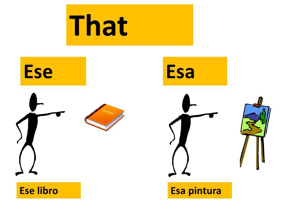 That= Este Esta Ese Esa