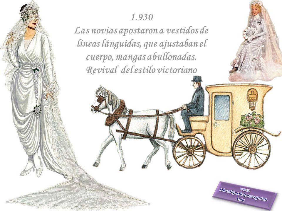 1.920 Las novias se liberaron. Mostraron sus piernas con vestidos cortos de línea recta. Ganó el terciopelo y los detalles en zorro blanco y armiño. T
