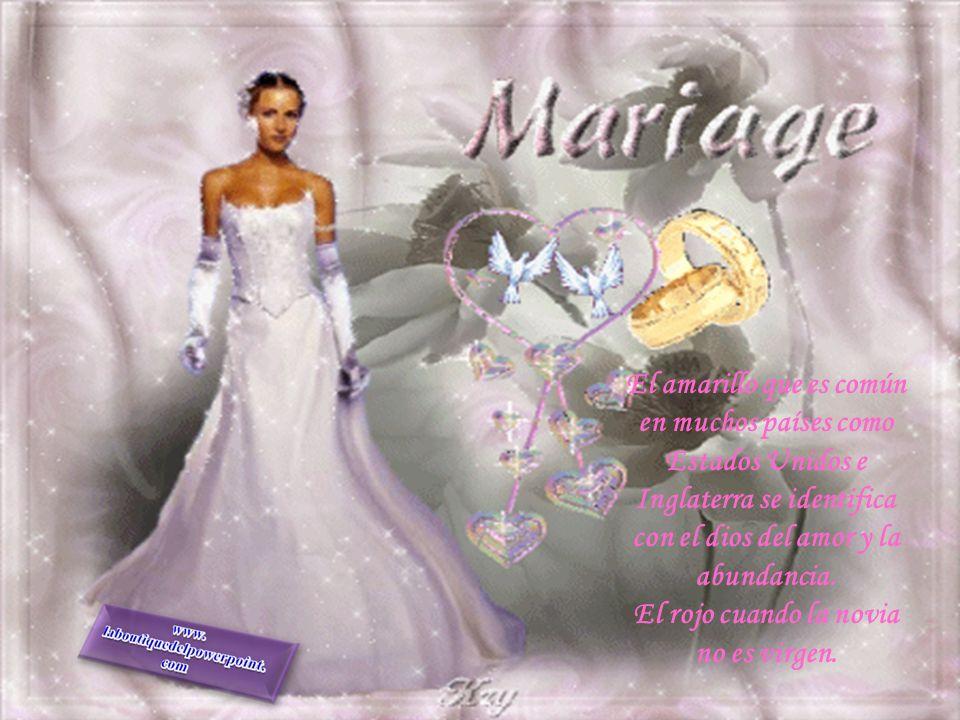 ya que el poder obtener un vestido blanco con las características típicas del vestido de novia, es decir, mucha tela, calidad, adornos y demás, valía