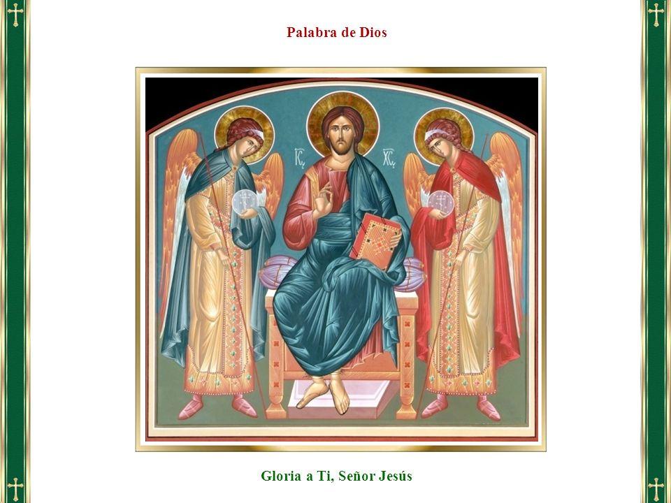 Gloria a Ti, Señor Jesús Palabra de Dios