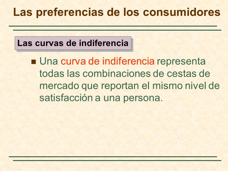 La utilidad Utilidad: puntuación numérica que representa la satisfacción que obtiene un consumidor de una cesta de merdado dada.
