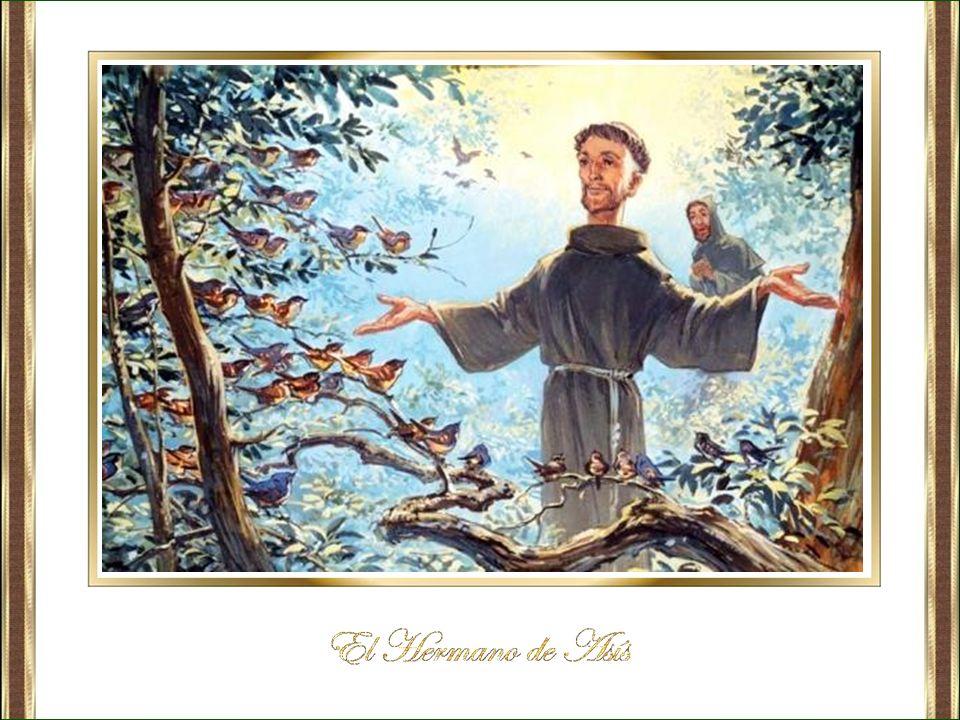 Francisco acostumbraba a hablar a las gentes anunciándoles la penitencia y la conversión.