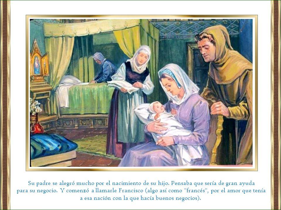 Le quiso dar al sacerdote que cuidaba la iglesita una bolsa con dinero, pero el sacerdote la rehusó porque tenía mucho miedo al padre de Francisco.
