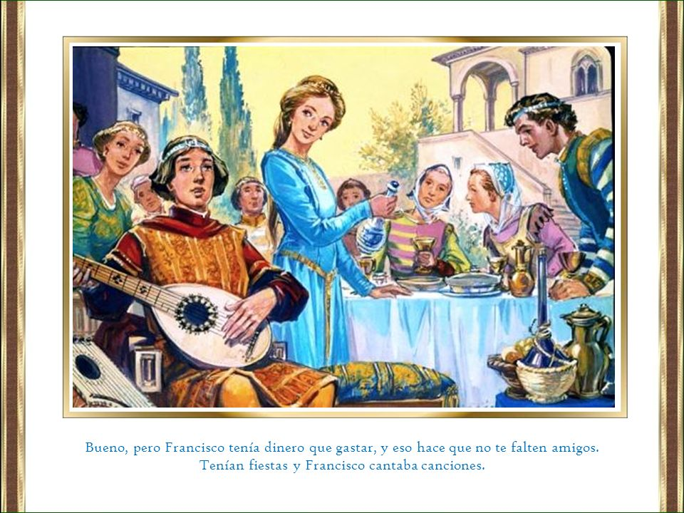 Cuando alcanzaron el número de 8 hermanos Francisco quiso, según el evangelio enviarlos a predicar de dos en dos, al norte, al sur, al este y al oeste.