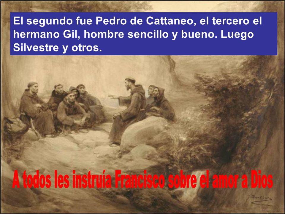 El primero fue Bernardo de Quintanavalle, rico comerciante, que repartió su hacienda entre los pobres.