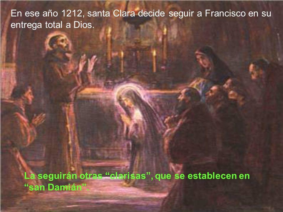 En 1212 el abad benedictino regaló la capilla a Francisco, con la condición de que fuese para siempre la principal iglesia de la nueva orden. Francisc