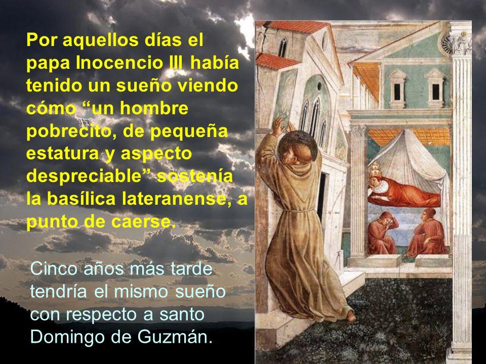 El obispo de Asís ya le había hablado muy bien sobre Francisco y compañeros al cardenal Hugolino. Este cardenal les acogió en su casa y les recomendó