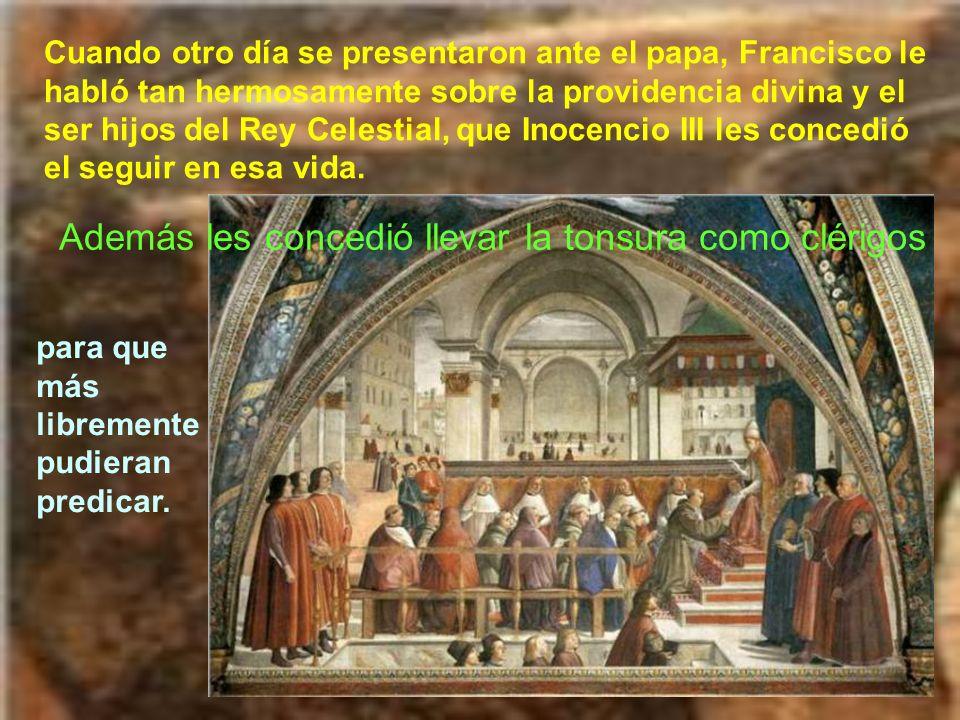 Varios cardenales le decían al papa que la propuesta de Francisco superaba las fuerzas humanas. No les parecía bien vivir en tanta pobreza. Pero el ca