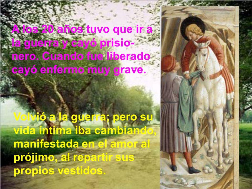 En 1224 se retiró san Francisco a una pequeña cabaña del monte Alberna.