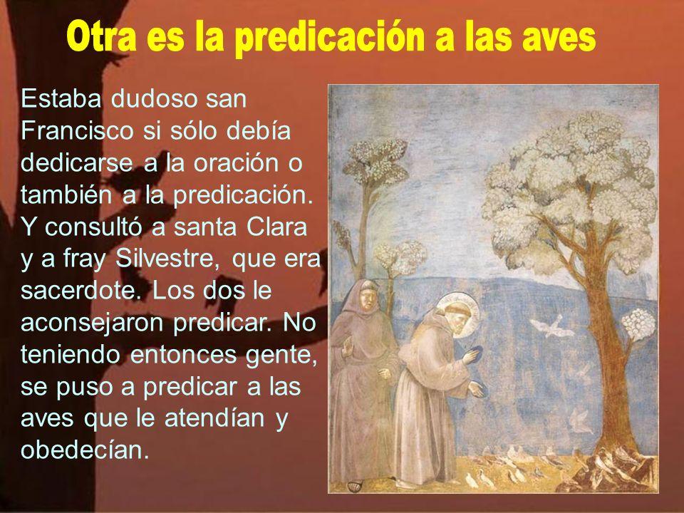 Hay algunas leyendas, que son como parábolas vivientes. Una es la del lobo de Gubbio que san Francisco amansó. Indica la misma mansedumbre del santo y