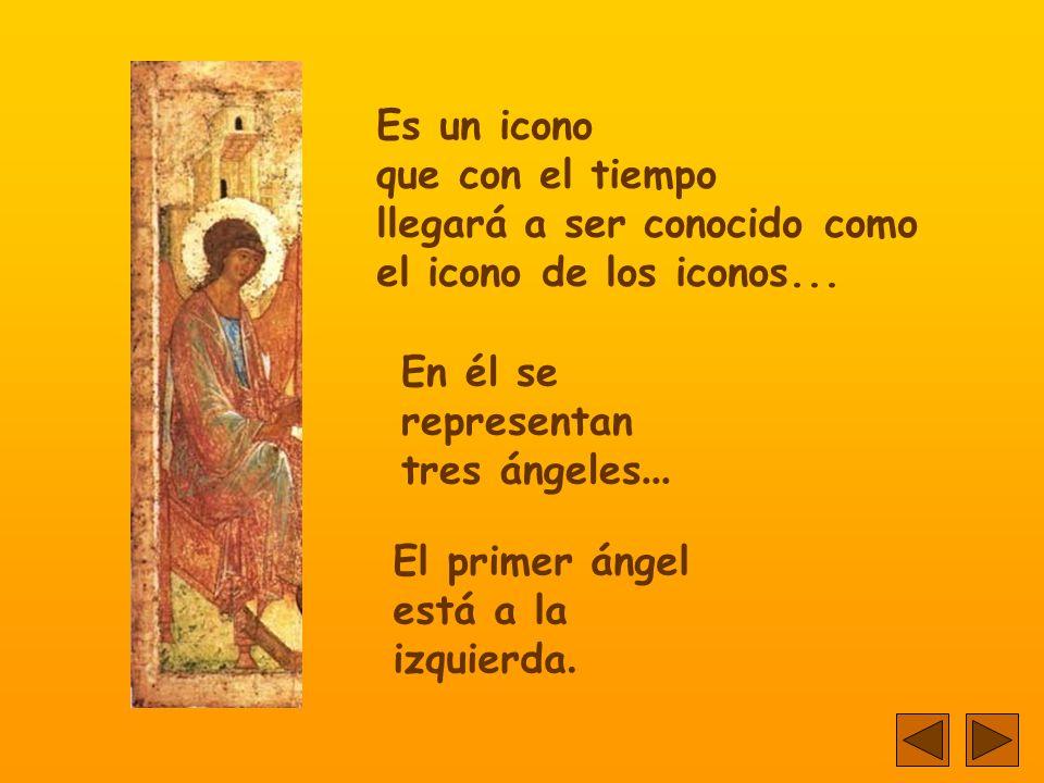 Corre el año 1411. Un monje pintor finaliza un icono... Con delicadeza traza las últimas líneas.