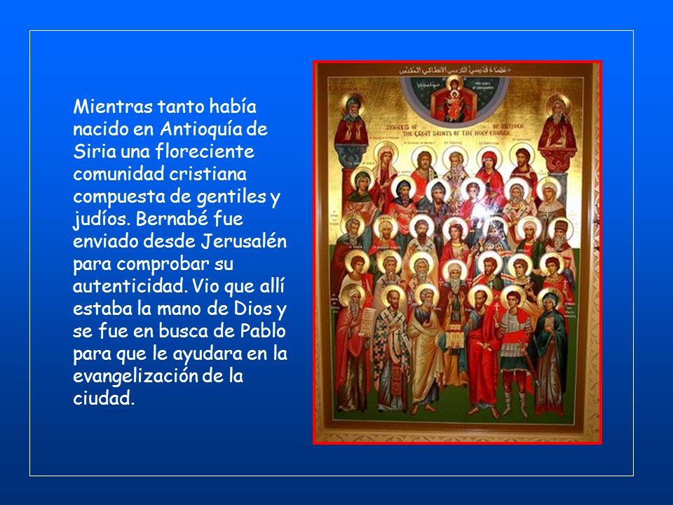 La visita fue breve ypero personalmente no me conocían las Iglesias de Judea que están en Cristo. Solamente habían oído decir: « El que antes nos pers