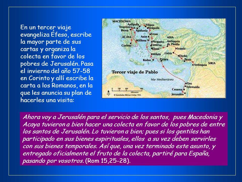 La comunidad de Antioquía envía a Pablo en un segundo viaje en que evangeliza Galacia, Filipos, Tesalónica, Berea, Atenas y Corinto. En este contexto