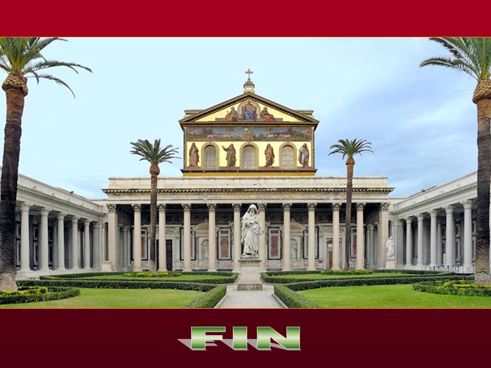 Efectivamente fue decapitado el año 63 en Roma en la via Ostiense en el lugar llamado Tre Fontane y un poco más lejos enterrado en la misma via Ostien