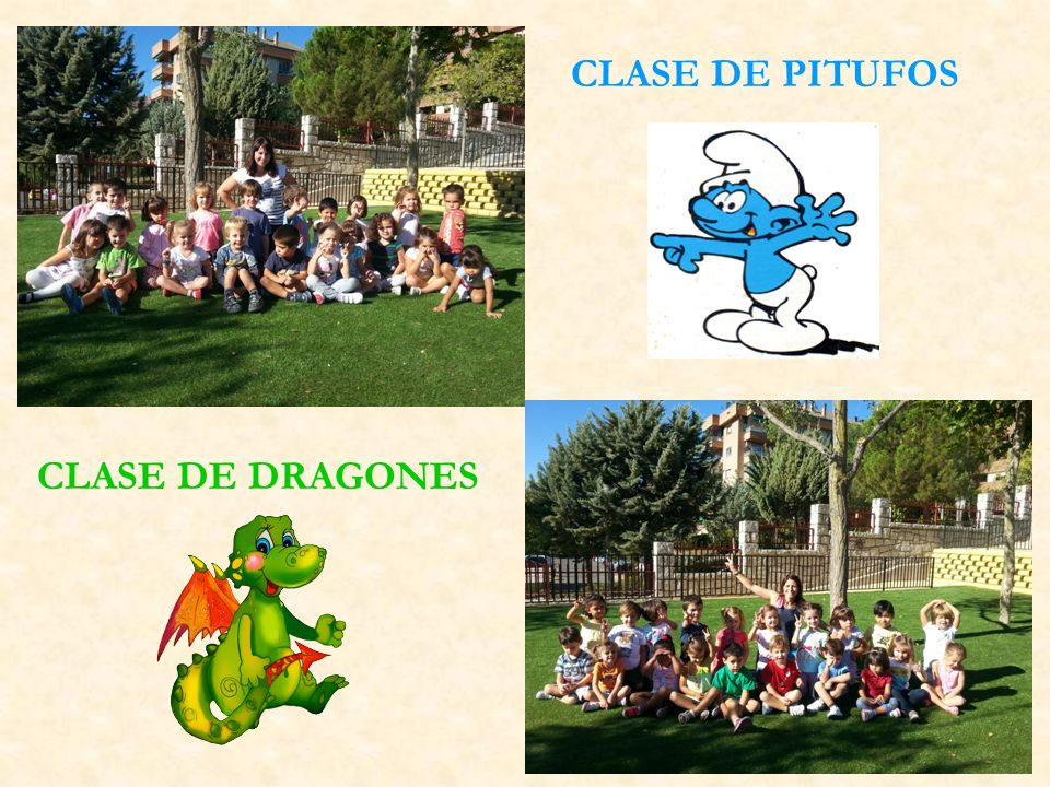 CLASE DE PITUFOS CLASE DE DRAGONES