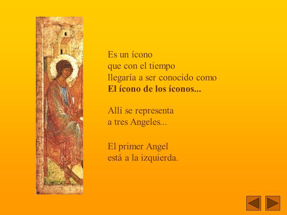 Corre el año 1411. Un monje pintor finaliza un ícono... Con delicadeza traza las últimas líneas.