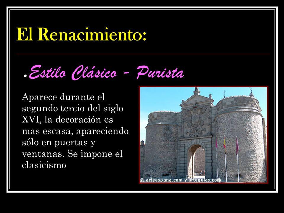 El arte Plateresco El arte Plateresco se desarrolló en España en el primer tercio del siglo XVI. Es una continuación del gótico donde la decoración se