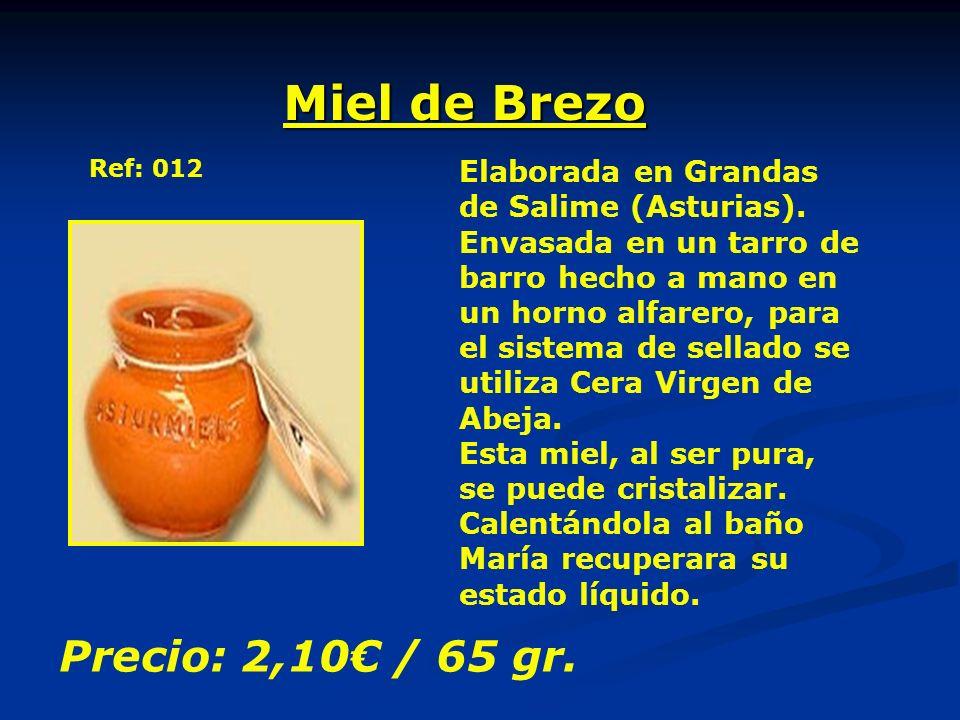Miel de Brezo Elaborada en Grandas de Salime (Asturias). Envasada en un tarro de barro hecho a mano en un horno alfarero, para el sistema de sellado s